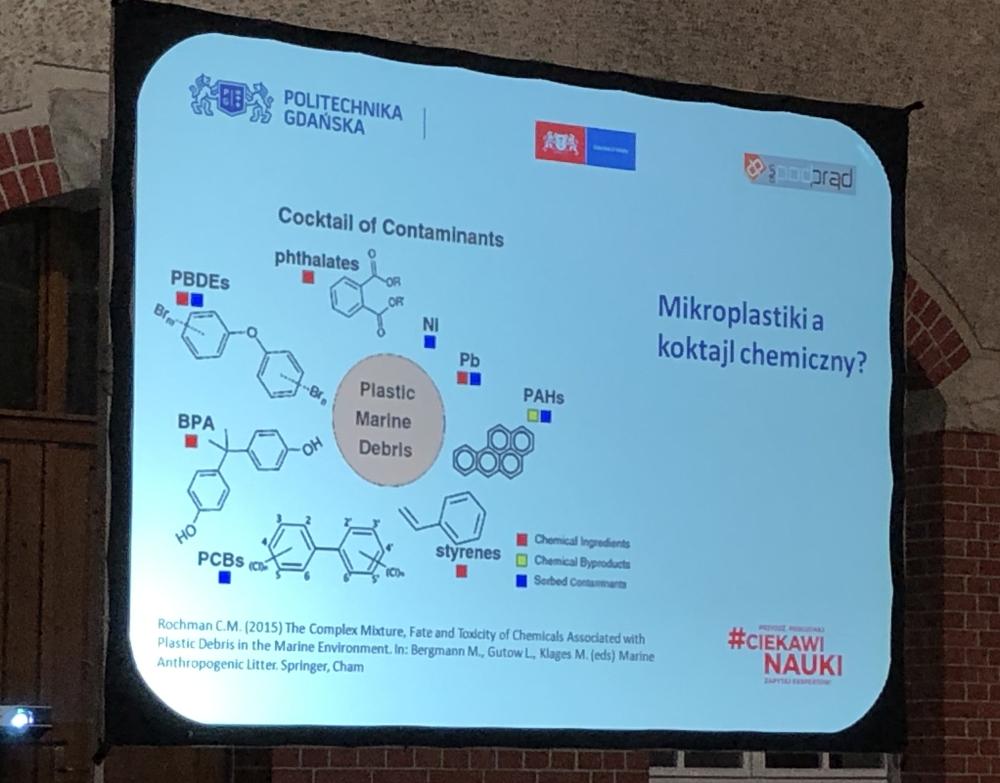 Mikroplastik koktail chemiczny Wykład Otwarty na Politechnice Gdańskiej