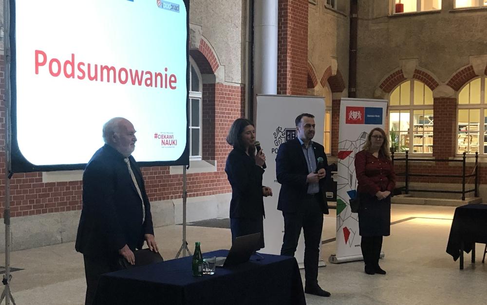 prof Marek Biziuk, dr Magdalena Drewnowska, Ryszard Gajewski