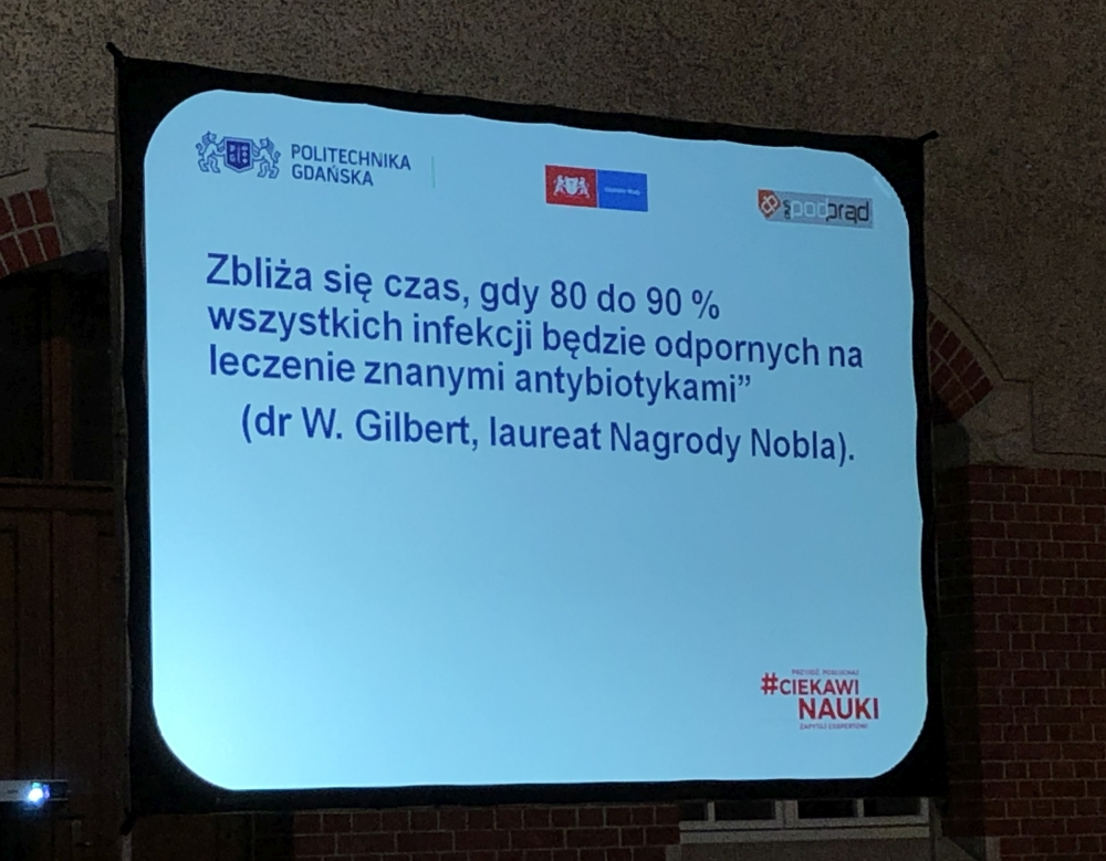 prof Marek Biziuk zanieczyszczenie wody antybiotyki PG