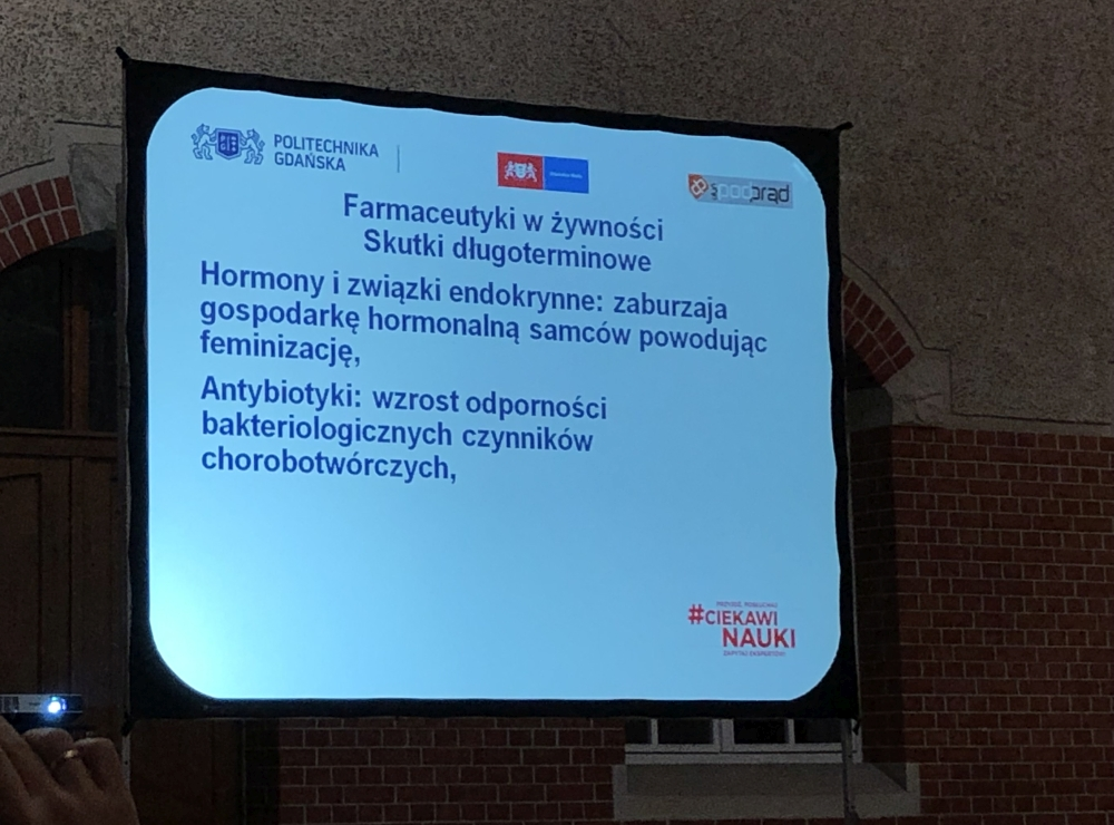 profesor Marek Biziuk Politechnika Gdańska zanieczyszczenie wody